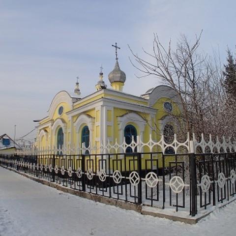 Экскурсия по Спасскому Собору в городе Минусинске.