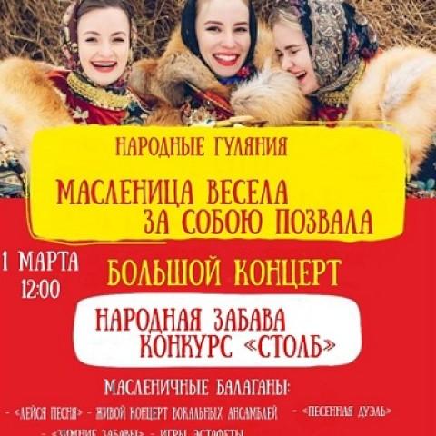 Ачинск,Красноярский край.Масленица( Проводы зимы)!