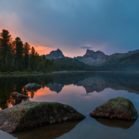 Сказочные Ергаки.Озеро Светлое 15 августа 2020 года