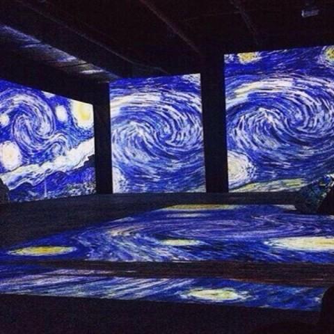 Выставка «Винсент Ван Гог: двигающиеся полотна»