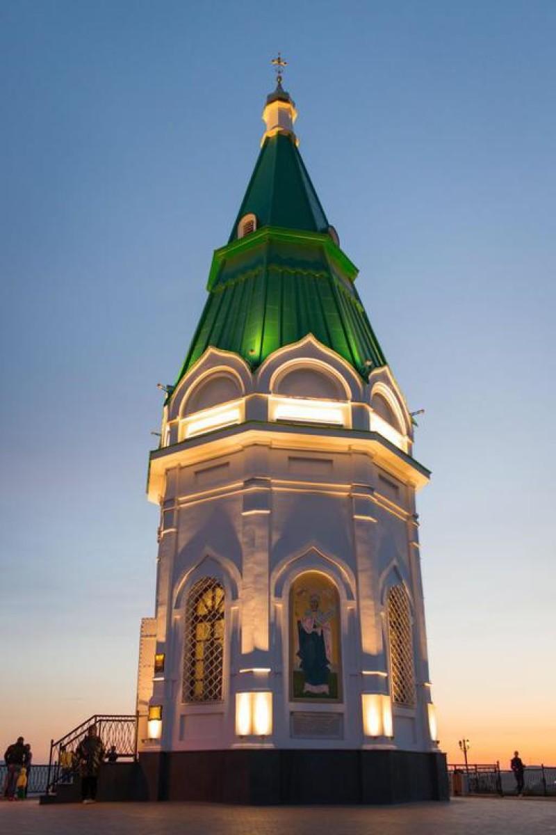Красноярск,Красноярский край.Часовня Параскевы Пятницы