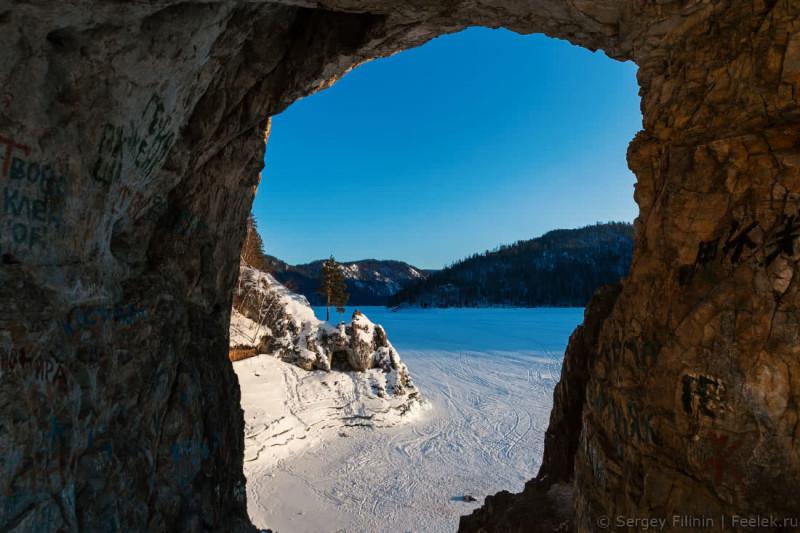 Дивногорск,Красноярский край.Бирюсинские пещеры