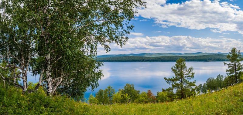 Карта тер Озеро Инголь Шарыповского р-на Красноярского Края