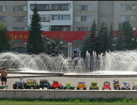 Городские фонтаны