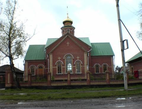 Церковь Николая Чудотворца в Агинском