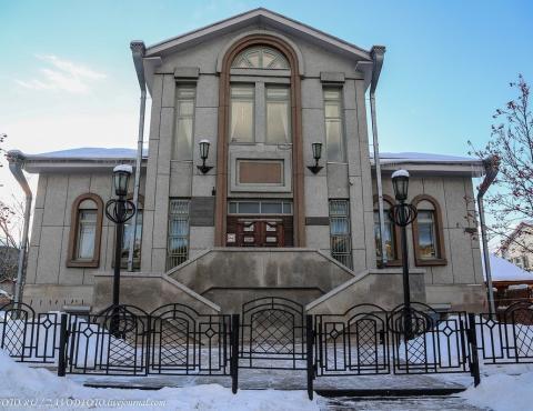 Библиотека-музей им. В. П. Астафьева село Овсянка