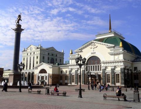 Красноярский железнодорожный вокзал