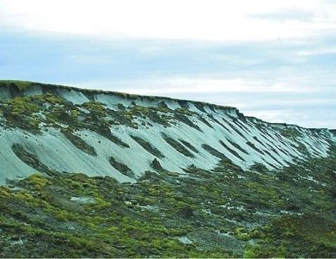 Природный ледоминеральный комплекс «Ледяная гора»