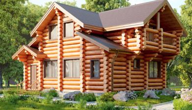 Строим дома, бани - только из натурнального материала!