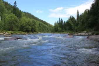 Сплавы по реке Сисим