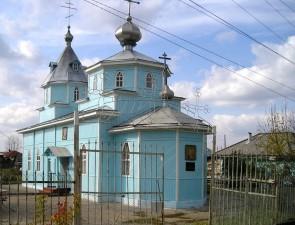 НИКОЛЬСКИЙ ХРАМ г. Боготол (1991г.)